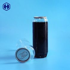 Liquid Drink Clear Plastic Can Biodegradable FDA SGS Certificated