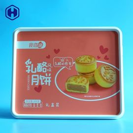 Wedding Gift Plastic Square Box Container Food Safe Aesthetic Feeling