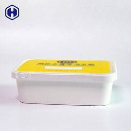 Recyclable Square Plastic Boxes With Lids Stackable Space Saving