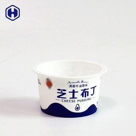 Empty Round IML Cup Pudding Packaging Thin Wall  Mini Size 3OZ 90ML