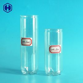 Transparent Plastic Soda Cans 250ML 330ML Beverage Packing Non Spill