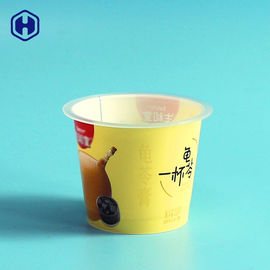 Thermal Formed  IML Plastic Containers Aluminium Plastic Foil Sealing